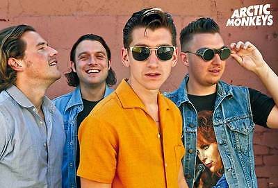 """Arctic Monkeys (2002-Now) POSTER 23""""x34"""" English Indie Rock Punk V2 FREE SHIPPIN"""