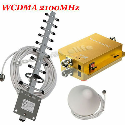 2100MHz Mobile Phone Singal Booster Repeater Extender 3G UMTS Home Amplifier Kit