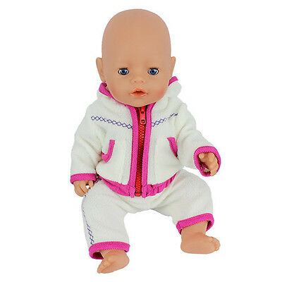 1set red Doll Clothes Wearfor 43cm Baby Born zapf (only sell clothes )