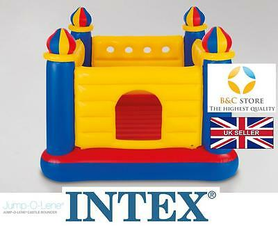 NEW INTEX Inflatable Jump-O-Lene Castle Bouncer Playhouse Ball KIDS home garden