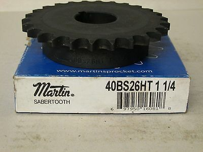 Martin 50BS21HT 1-1//4 Sabertooth Sprocket New