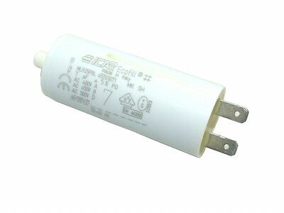MOTOR RUN START CAPACITOR 7 µF 7 UF 7 MICROFARAD 400-500V TINY TERMINAL 6.3MM