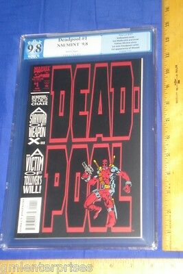 PGX 9.8 DeadPool Circle Chase #1 (NOT CGC/NOT CBCS) 1st Solo 1993 Marvel