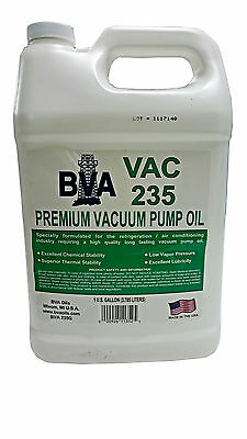 Bva Premium Vacuum Pump Oil 1 Gallon (3.785L) Made In Usa