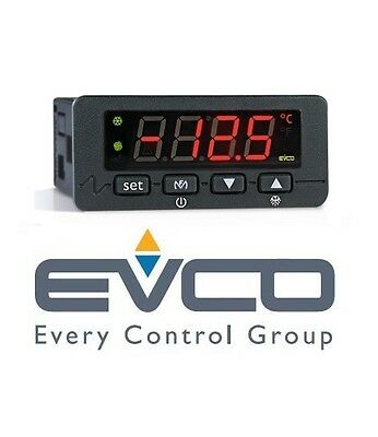 Evco Evk401P7 Simple Single Output Digital Thermoregulator / Control Ptc Probe