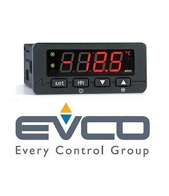 Evco Evk211P2 12V Vac / Dc Digital Static Thermostat / Control With Ptc Probe