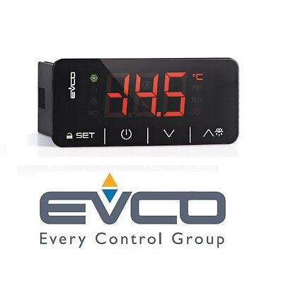 Evco Ev3X21N7 Touch Medium Temperature Refrigeration Controlle 230 Vac Cool Room