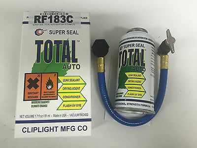 Cliplight Super Seal Total Auto With Dry R Complete Car Leak Stop Kit
