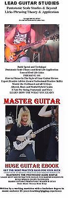 E Book Master Guitar Lessons Scales Theory Made Easy  Rock Blues Country Tab