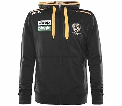 Richmond Tigers 2016 Full Zip Performance Hoodie Jacket 'Select Size' S-7XL BNWT