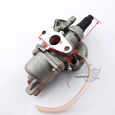 Pocket Dirt Bike Carb Carburetor For 47cc 49cc Engine Parts Mini Moto ATV Quad