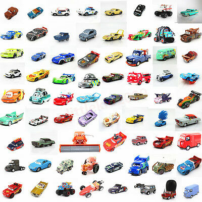 Disney Pixar Cars Metal Diecast 1:55 Cars1 2 King Mcqueen Holly Sally Lizzie