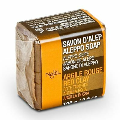 Najel Aleppo Soap Red Clay - 100g