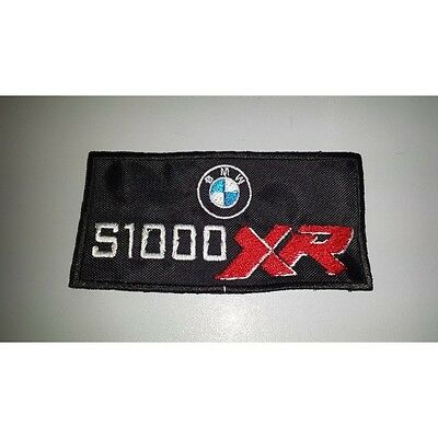 Patch Embroidered Patch BMW S 1000 XR embroidery cm 10 x 5 fusible
