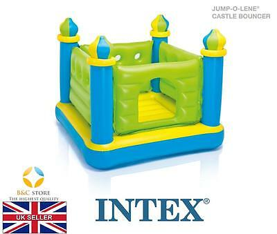NEW INTEX Inflatable green Jump-O-Lene Castle Bouncer KIDS home garden play fun