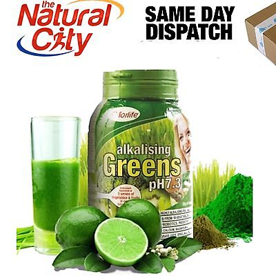 ALKALISING GREENS PH 7.3 1KG MORLIFE Barley Grass & Wheat Grass