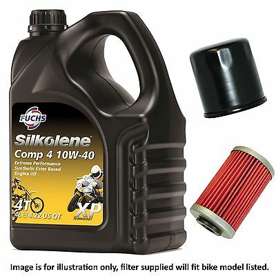 Yamaha XJ 550 J Maxim 1982 Silkolene Comp 4 XP Oil and Filter Kit