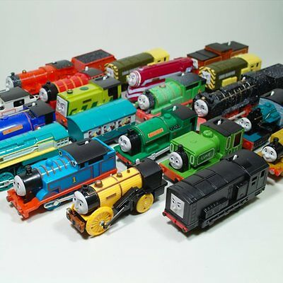NEW STYLE Thomas the tank engine and friends Motorized train WHIFF,RHENEAS,SALTY
