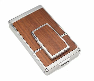 Polaroid SX-70 Silver Body - Cherry Wood Replacement Cover