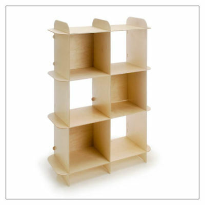 Vertical PlyGrid Storage Shelving  by Offi & Co. ###ON SALE###