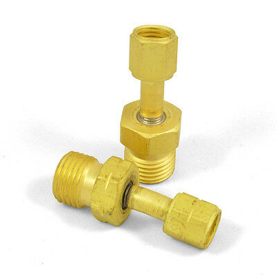 Western 105 & 106 Oxygen Acetylene Adaptors, A Size Torch/Regulator to B Hose