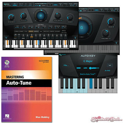 Antares Auto Tune Pro - Native Pitch Correction Plugin eDelivery + FREE Book