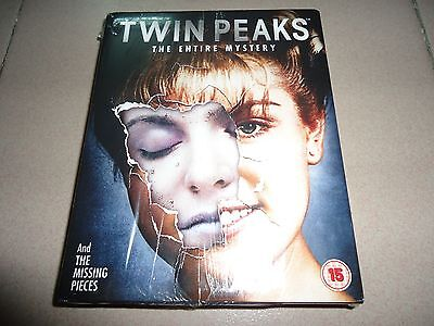 Twin Peaks The Entire Mystery Complete Series Blu-ray 10 Disc Boxset Boxed Set