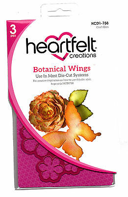 Heartfelt Creations Botanical Wings Die for Cardmaking,Scrapbooking, etc
