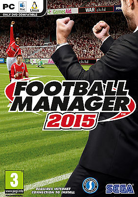 Football Manager 2015 - FM 15 - PC STEAM