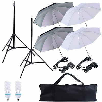 Photos Studio kit photographie éclairage parapluie Softbox continu kit 2 choix