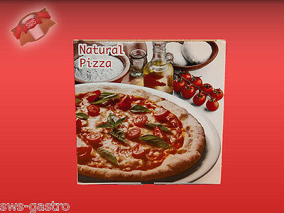 (913637) 150 Pizzakarton Pizza Karton Pizzabox Naturale 36 cm Pizzakartons