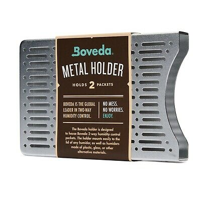 Boveda Metal Holder (Holds Two Packets, Stacked Vertically)