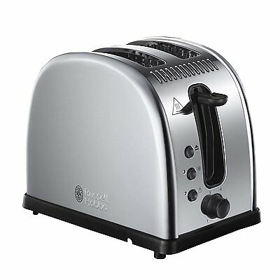 Brand New:Russell Hobbs 21290 Legacy 2 Slice Toaster - Stainless Steel