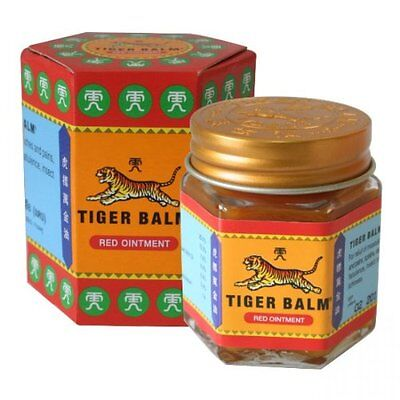 21ml Tiger Balm Red Ointment Strong Muscular Body Pain Headaches Relief