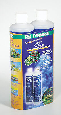 Dennerle Bio CO2 - Refill Control Gel Aquarium Plant Growth Original DOUBLE Pack
