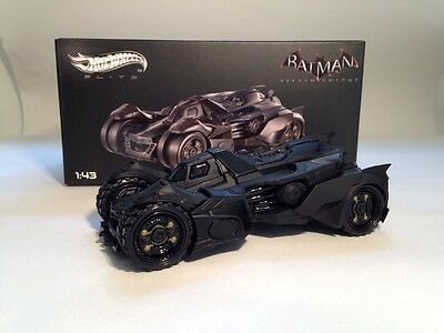 Batman - Arkham Night Batmobile - Hotwheels Elite 1:43 Scale New BLY30