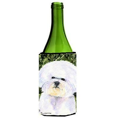 Carolines Treasures SS8829LITERK Bichon Frise Wine bottle sleeve Hugger 24 Oz.