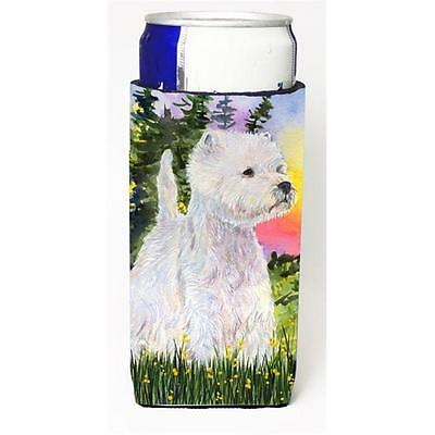 Carolines Treasures SS1067MUK Westie Michelob Ultra s For Slim Cans 12 oz. • AUD 47.47