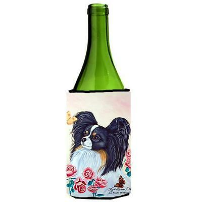 Carolines Treasures 7236LITERK Papillon Wine bottle sleeve Hugger