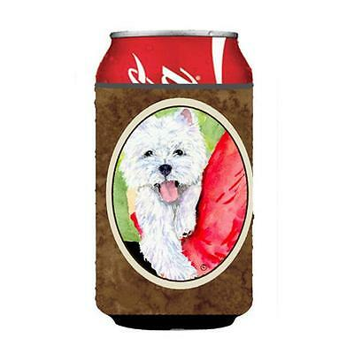 Carolines Treasures SS8784CC Westie Can Or bottle sleeve Hugger 12 Oz.