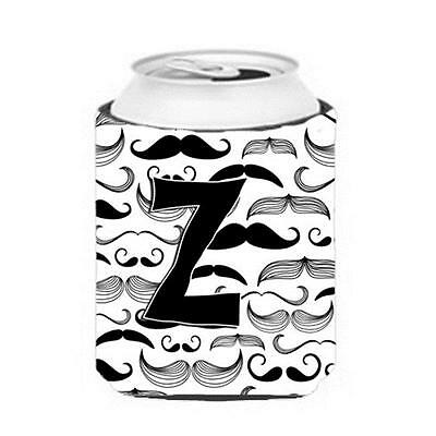Carolines Treasures CJ2009-ZCC Letter Z Moustache Initial Can & Bottle Hugger