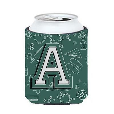 Carolines Treasures Letter A Back To School Initial Can & Bottle Hugger