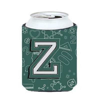 Carolines Treasures Letter Z Back To School Initial Can & Bottle Hugger