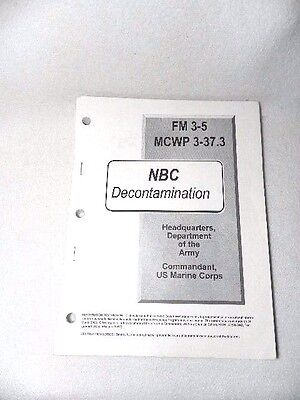 Manual Book Three Holed Punched FM 3-5 NBC Decontamination July 2000