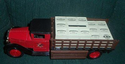 Anheuser Busch 1930's Delivery Truck Bank Collectible Die Cast