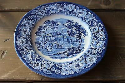Liberty Blue Plate Made in England by Monticello