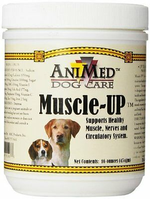 AniMed Dog Care, Muscle-up Muscle up Powder 16 oz