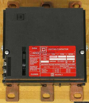 Square D 8903PBW11BV02 Panelboard Lighting Contactor, 225 Amp, 120VAC Coil, NEW!