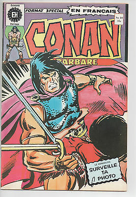 CONAN #40 french comic français EDITIONS HERITAGE