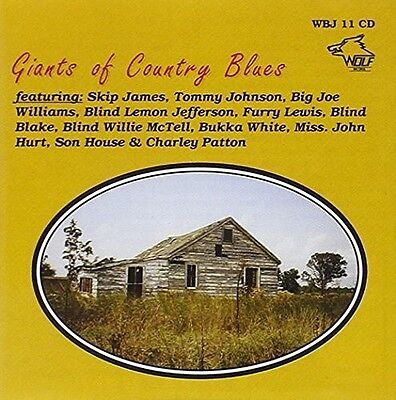 Giants Of Country Blues - Various Artist (1900, CD NEUF)